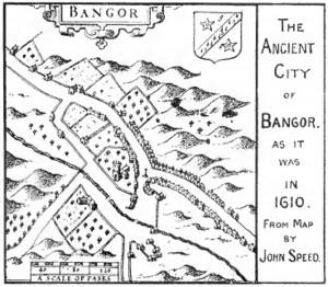 map John Sepped, Bangor 1610