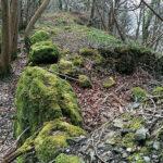 Pen Dinas - Tregarth (yr hen wal)
