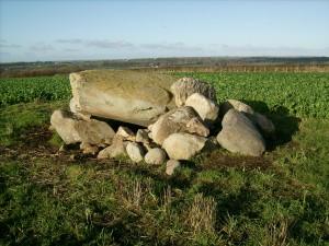 Bryn burial chamber