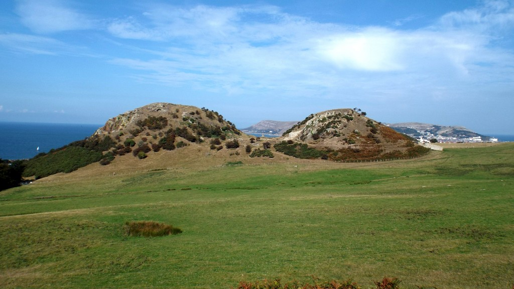 the site of Deganwy Castle