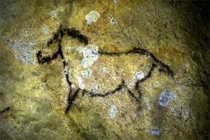 Stone age horse