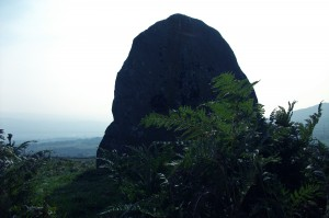 esgid y cawr (the giant's shoe), cae coch