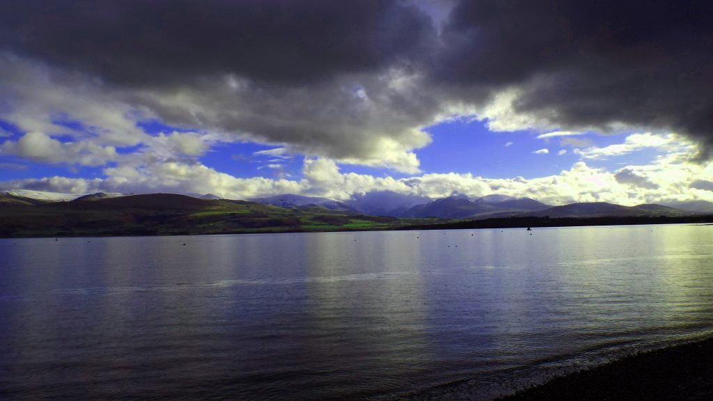 view from Beaumaris