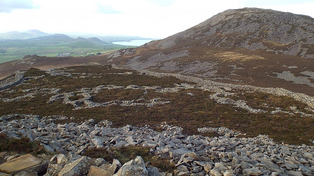 Tre'r Ceiri - the impressive Iron Age hillfort on the Lleyn Peninsula